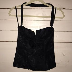 Other - Black Lace Bustier